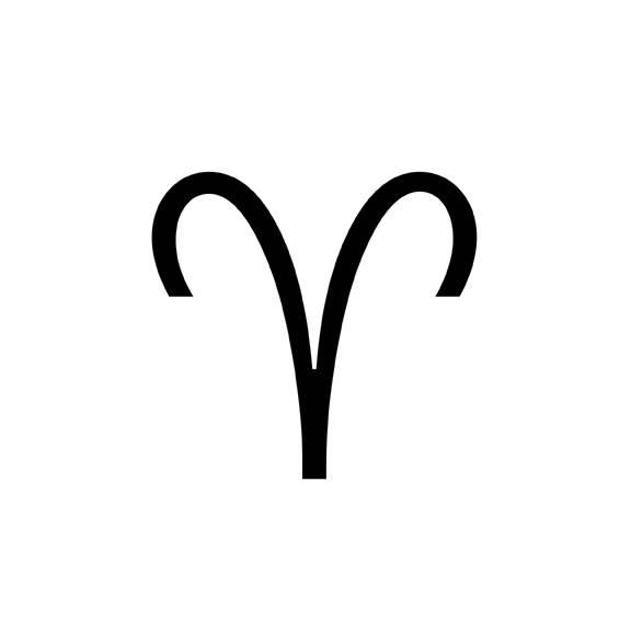 aries symbol 2
